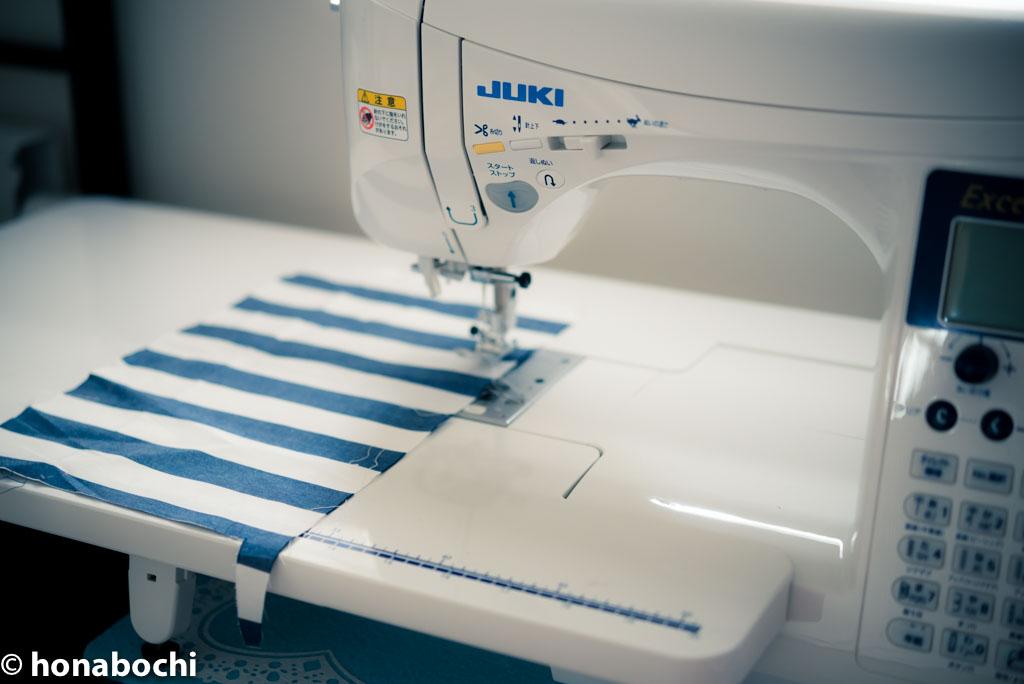 【ミシン初心者が服を作るまで】直線縫いでミシンの第一歩