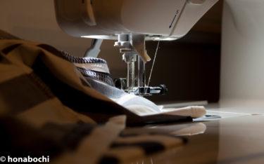 【ミシン初心者が服を作るまで】曲線縫いに挑戦